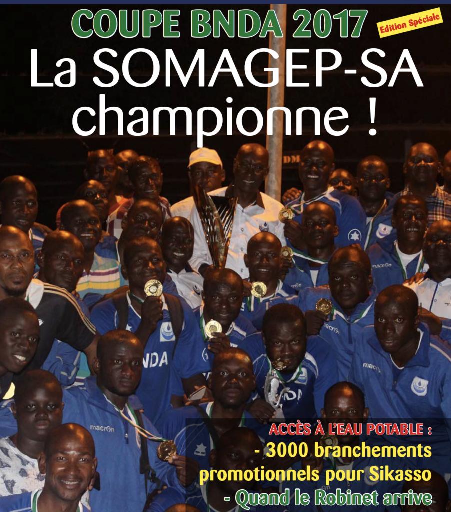 SOMAGEP-SA, revue trimestrielle d'informations générales N°10, Oct. – Décem. 2017