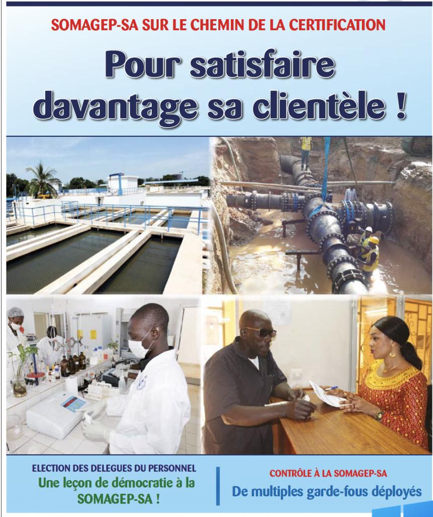 SOMAGEP-SA, revue trimestrielle d'informations générales N°13, Juillet. – Sept. 2018