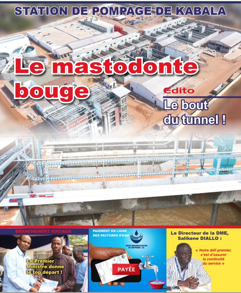 SOMAGEP-SA, revue trimestrielle d'informations générales N°16, Avr. – Juin. 2019