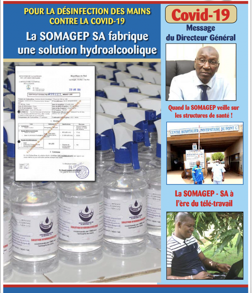 SOMAGEP-SA, revue trimestrielle d'informations générales N°18, Oct. – Déc. 2019
