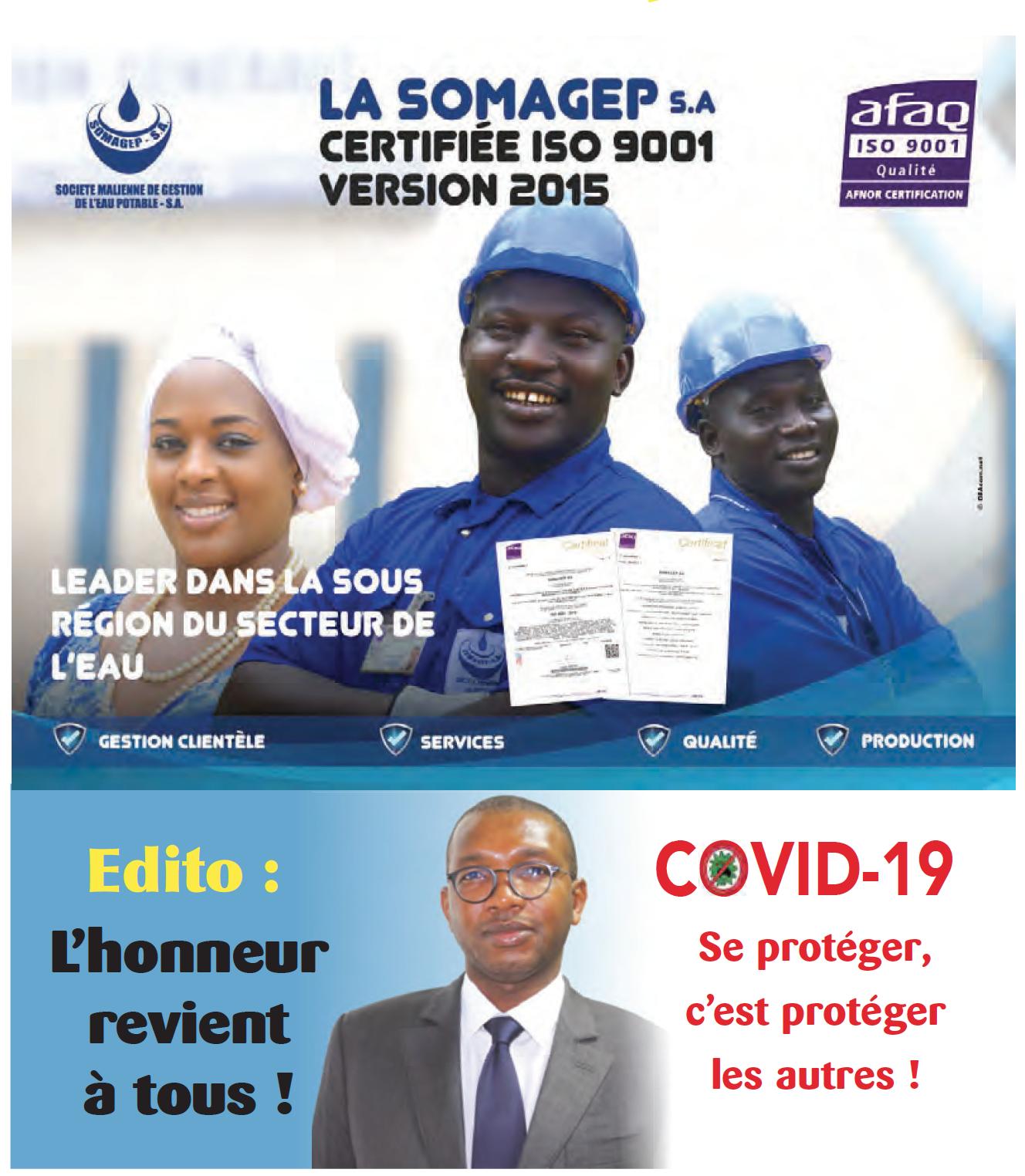 SOMAGEP-SA, revue trimestrielle d'informations générales N°19