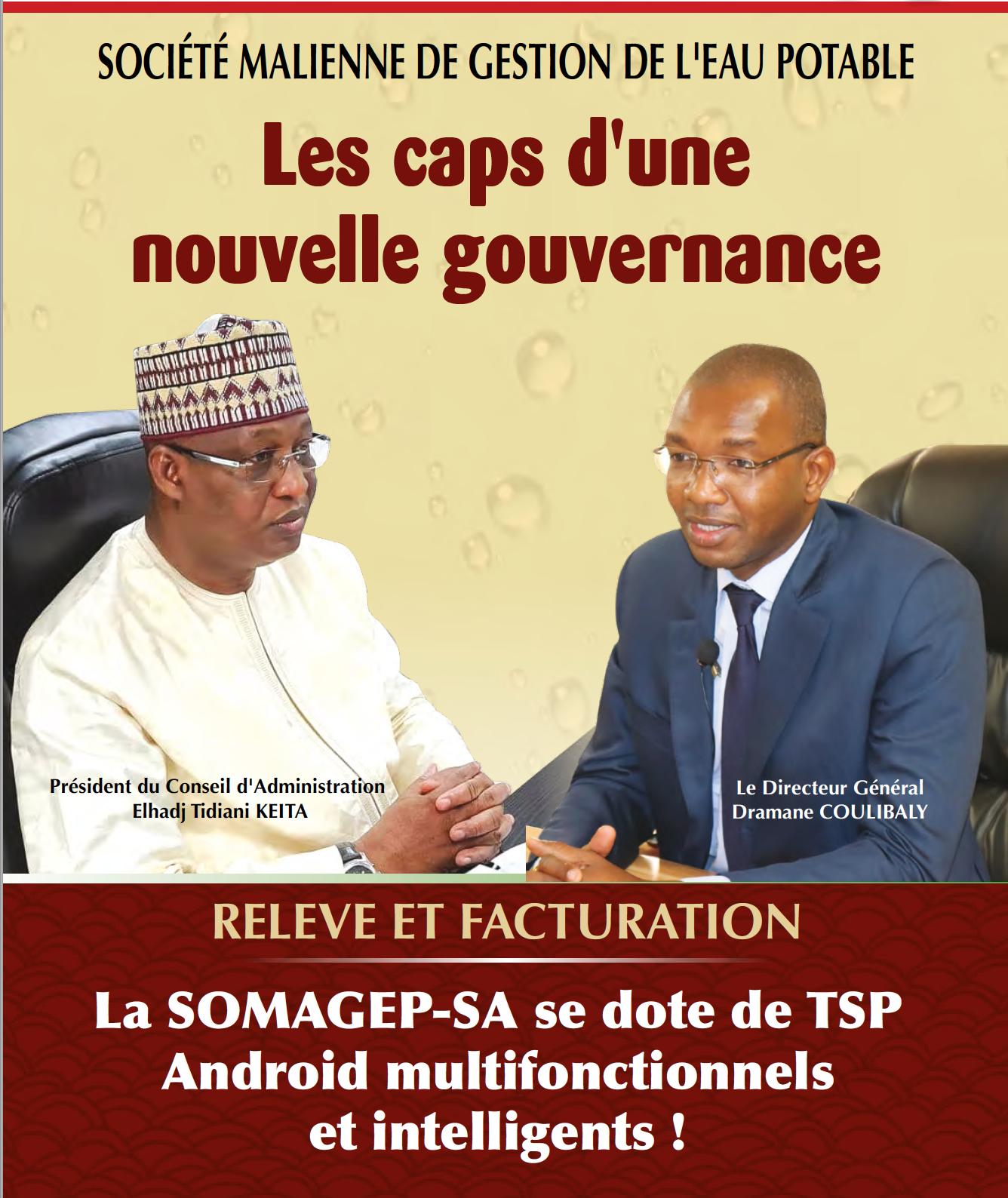 SOMAGEP-SA, revue trimestrielle d'informations générales N°20